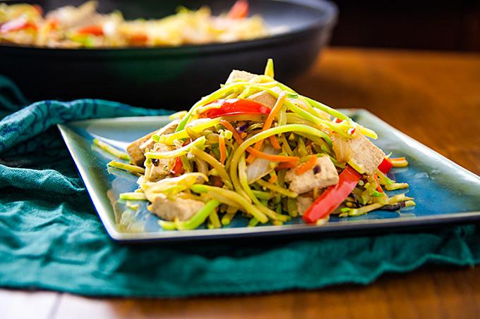 Broccoli Slay Stir-Fry with Tofu