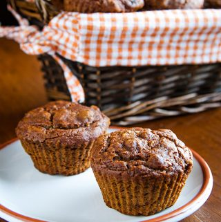 Mary's Pumpkin Walnut Muffins