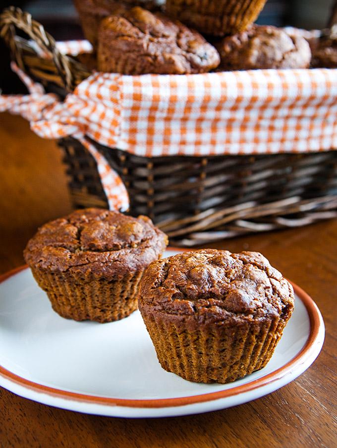 Mary's Pumpkin Walnut Muffins