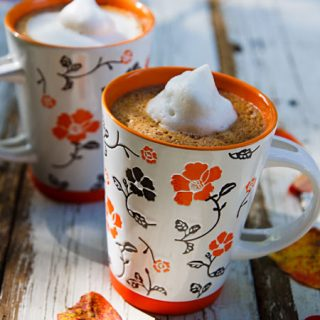 Spiced Pumpkin Hot Chocolate