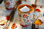 Thumbnail image for Pumpkin Spice Hot Chocolate