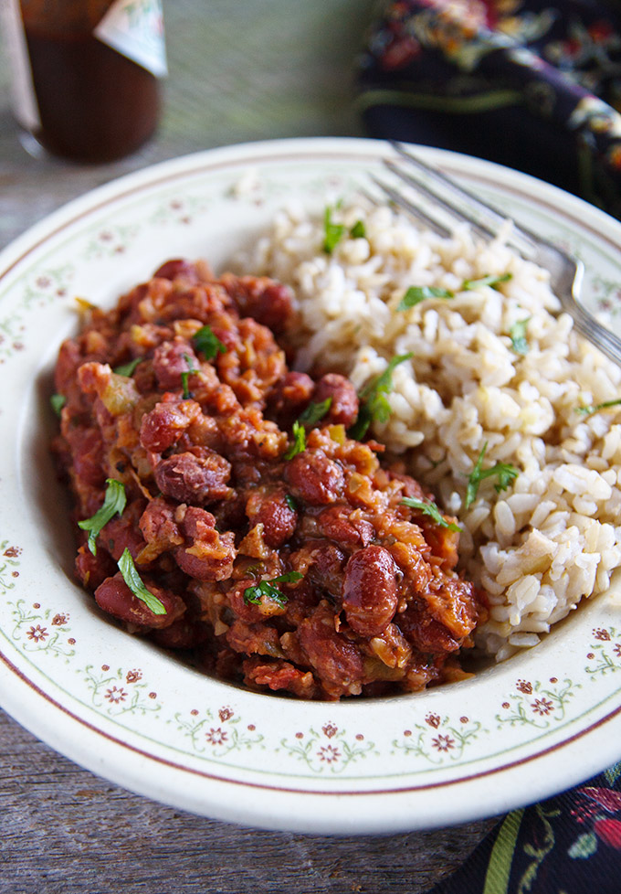 Easy Red Beans And Rice Fatfree Vegan Kitchen