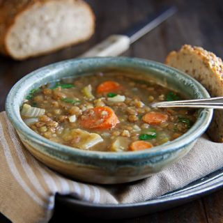 Lentil Soup with Cardamom and Cumin