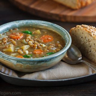 Lentil Soup with Coriander and Cumin