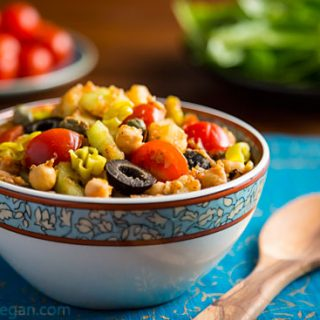 Tunisian-Inspired Chickpea and Potato Salad