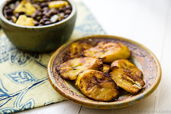 Oven-Fried Plantains