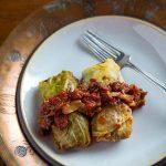 Vegan Cabbage Rolls Stuffed with Lentils