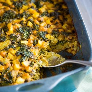 Kale-Powered Hash Brown Casserole