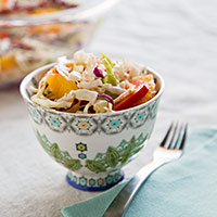 Orange-Sesame Coleslaw
