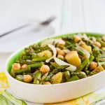 Roasted Asparagus Salad with Chickpeas and Potatoes