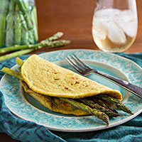 Chickpea Flour Omelets