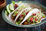 Thumbnail image for Lentil and Cauliflower Rice Tacos