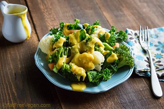 Cheesy Cauliflower Sauce