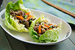 Thumbnail image for Mu Shu Jackfruit Lettuce Wraps