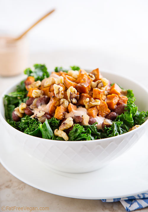 The Jackson Bowl features red beans and rice and greens topped with sweet potato croutons, but the star of the show is vegan Comeback Sauce, a spicy Mississippi dressing that adds a Southern drawl to anything.
