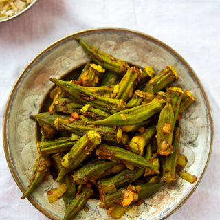 Roasted Okra Masala