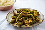 Thumbnail image for Roasted Okra Masala