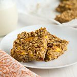 Peach-Oatmeal Bars