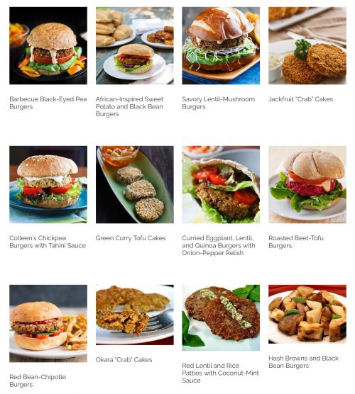 Healthy Vegan Burger Recipes
