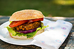 Thumbnail image for African-Inspired Sweet Potato and Black Bean Burgers