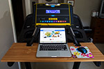 Thumbnail image for My Homemade Treadmill Desk