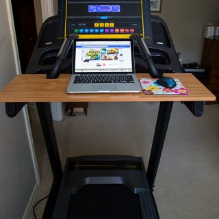 My Homemade Treadmill Desk