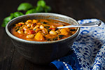 Thumbnail image for White Bean Stew with Winter Squash and Kale