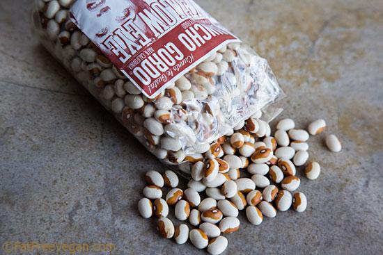 Yellow Eye Beans from Rancho Gordo