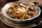 Thumbnail image for Mushroom and Tempeh Gumbo