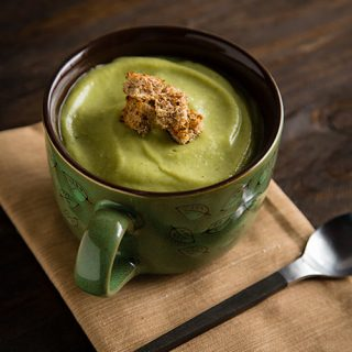 Vegan Cream of Broccoli Soup