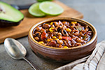 Thumbnail image for Black-eyed Pea Chili with Quinoa and Corn