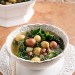 Zuppa Vegana: Italian Potato, Bean, and Kale Soup