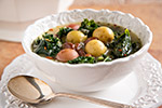 Thumbnail image for Zuppa Vegana: Italian Potato, Bean, and Kale Soup