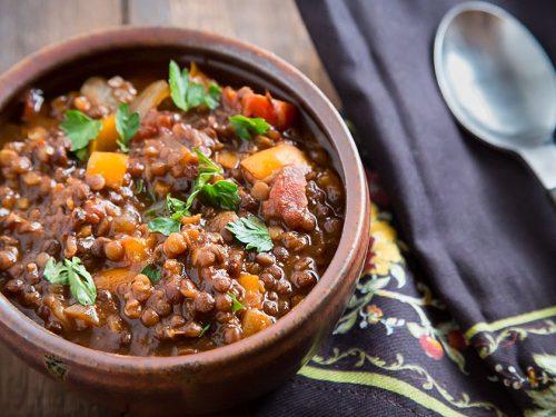 Black And Red Lentil Chili Fatfree Vegan Kitchen
