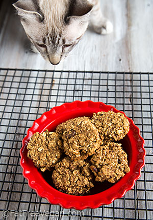 Loki Loves Apple Pie Oatmeal Cookies