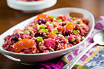 Thumbnail image for Beet and Quinoa Salad with Maple-Balsamic Reduction