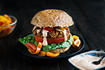 Thumbnail image for Barbecue Black-Eyed Pea Burgers