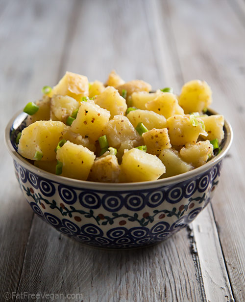 Oil-Free Vegan German Potato Salad