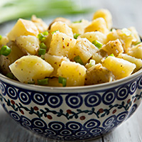 Vegan and Low-Fat German Potato Salad