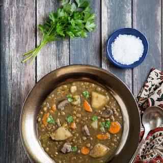 Homestyle Lentil Soup
