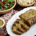 Mushroom and Herb Seitan Roast