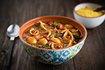 Thumbnail image for Pasta Fagioli with Cranberry Beans and Kale