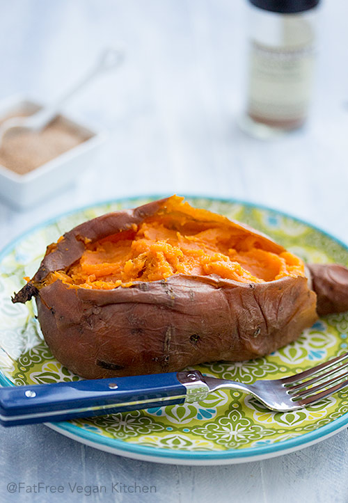 Perfect Baked Sweet Potatoes In The Pressure Cooker And Oven Fatfree Vegan Kitchen