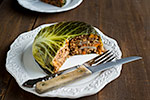 Thumbnail image for Vegan Chou Farci (Cabbage Stuffed with Barley and Lentils)