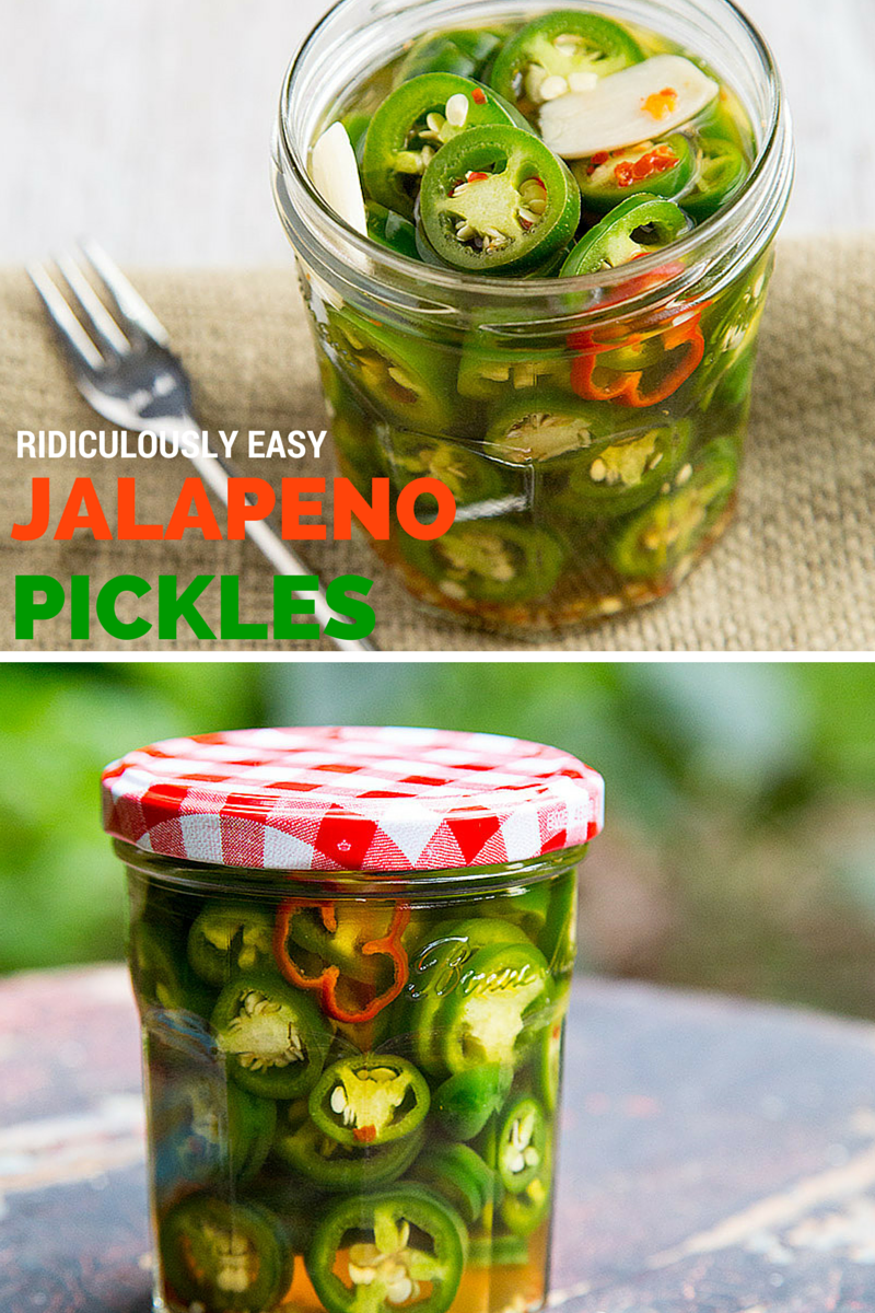 Ridiculously Easy Jalapeno Pickles