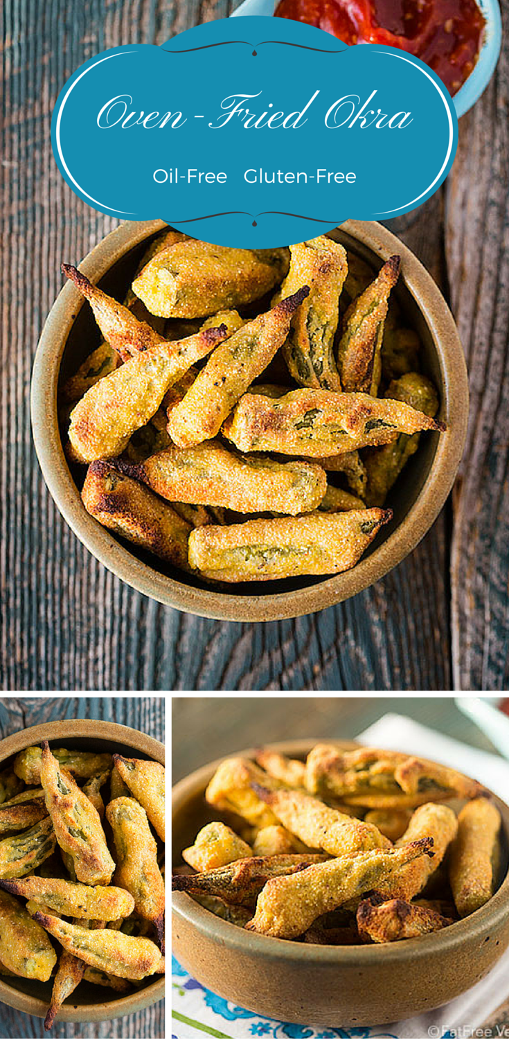 Crunchy, golden, and delicious, this oven fried okra is vegan and contains no oil or gluten. Prepare to be amazed!