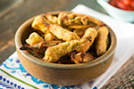 Thumbnail image for Oil-Free Gluten-Free Oven-Fried Okra