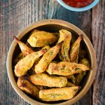 Oil-Free Gluten-Free Oven-Fried Okra