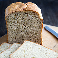 Fat-Free, Quick, and Vegan Bread Machine Whole Wheat Bread