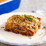 Vegan Eggplant Parmesan - Soy-Free